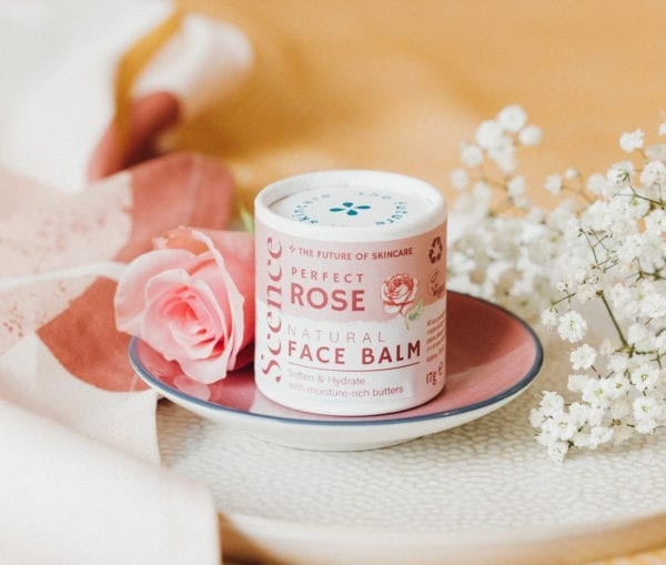 Scence rose natural face balm