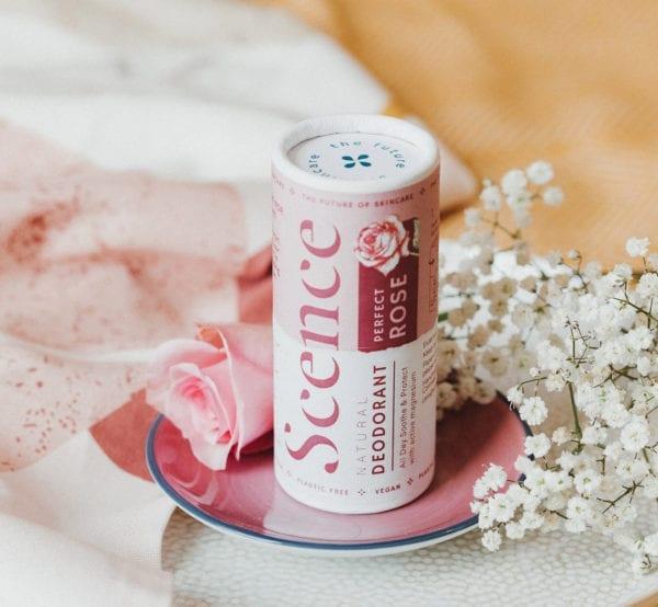 Scence rose natural deodorant
