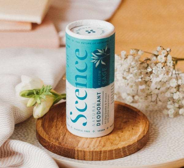 Scence sage natural product deodorant